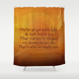 HARRY POTTER // SIRIUS BLACK Shower Curtain