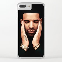 Pensive Drake Clear iPhone Case