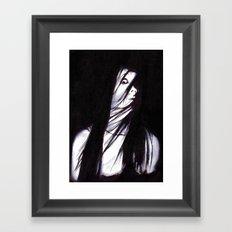 JU-ON Framed Art Print