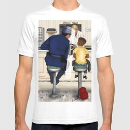 If Norman Rockwell Lived in Today's Society T-shirt