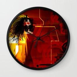 Toxic Love Candy Wall Clock