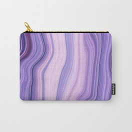 Marble ultra violet Carry-All Pouch