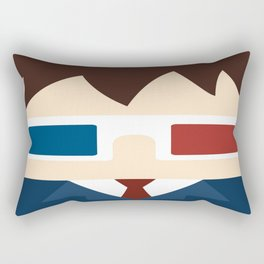 David Tennant, 10th doctor Rectangular Pillow