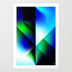 Astro Shield Art Print