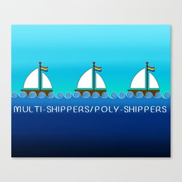 Multi-Shippers/Poly-Shippers Canvas Print