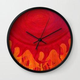 The Sun Has Already Risen Wall Clock