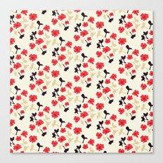poppies will make them sleep Canvas Print