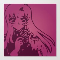 utena Canvas Prints featuring Take My Revolution by Dani Pinto