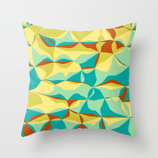 Imperfect Tiles Throw Pillow