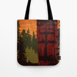 Gwaii Haanas National Park Reserve, National Marine Conservation Area Reserve & Haida Heritage Site Tote Bag