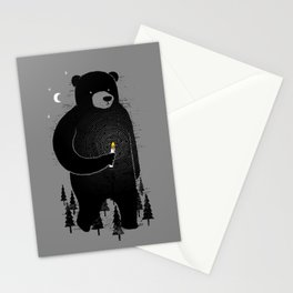 Lost in the wood Stationery Cards