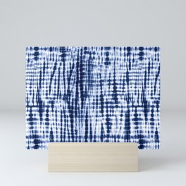 Shibori Tie Dye Pattern Mini Art Print