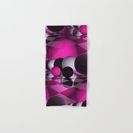 3D - abstraction -115- Hand & Bath Towel