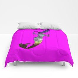 Galaxy Mermaid 2 (Pink) Comforters