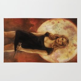 Buffy Summers Vampire Slayer Rug