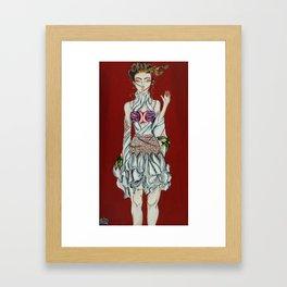 Konnichiwa Kawaii!  Framed Art Print