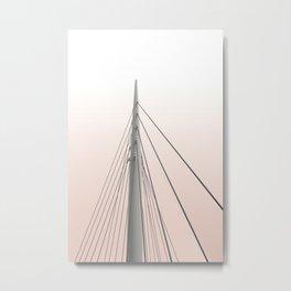 Sunset Spire Metal Print