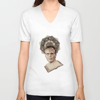 ben giles V-neck T-shirts featuring Giles by mycolour