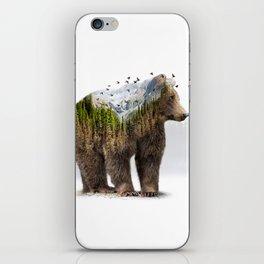 Wild I Shall Stay | Bear iPhone Skin