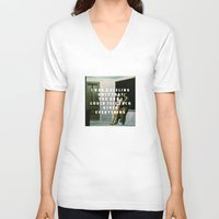 vampire weekend V-neck T-shirts featuring Summer Weekend by Modern Vampires of Art History