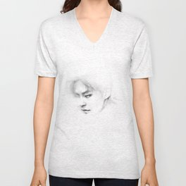 In my dreams you are a part of me. P8 Unisex V-Neck