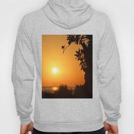 Sunset by the beach Hoody