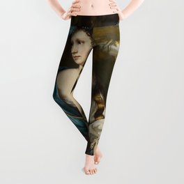 "Willem van Mieris ""Diana Goddess of the Hunt"" Leggings"