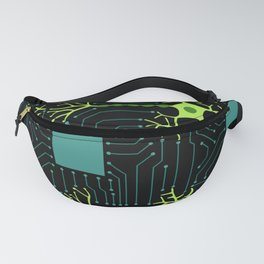 Neural Network 2 Fanny Pack