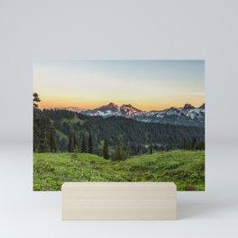 Looking Towards Tatoosh Range Mini Art Print