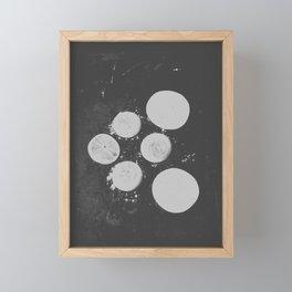 GEOMETRIC SERIES V Framed Mini Art Print