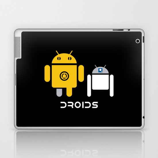 Droids Laptop & iPad Skin