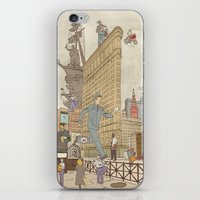 literary iPhone & iPod Skins featuring St. Petersburg Literary Map by Ilya Merenzon