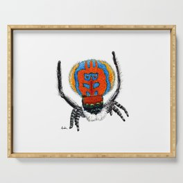 Peacock Spider Serving Tray