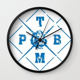 PTBM: Proud To Be Monarch 1 Wall Clock
