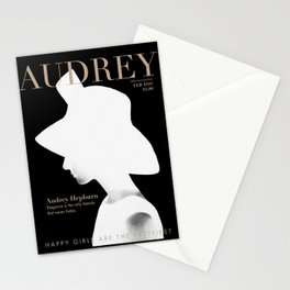 Audrey Hepburn Cover Stationery Cards