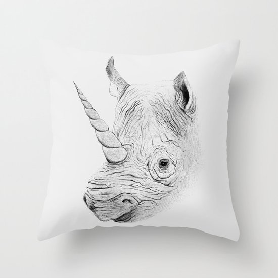 Rhinoplasty Throw Pillow