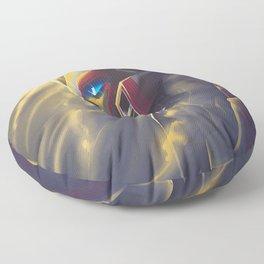 Drift in the Light Floor Pillow