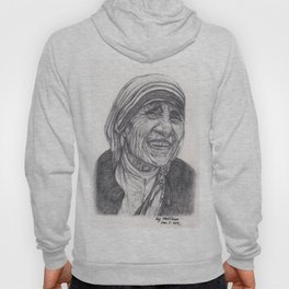 Mother Theresa Drawing Hoody