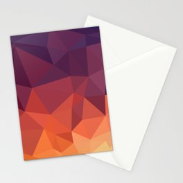 Abstract Geometric Poly #2 Stationery Cards