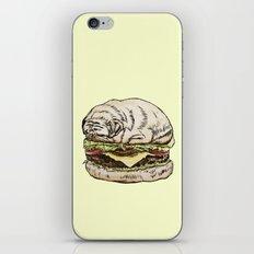 Pug Burger iPhone & iPod Skin