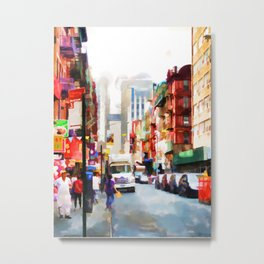Fujianese Neighborhood Metal Print