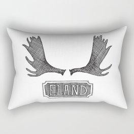 Moose Paddles - Dutch Rectangular Pillow