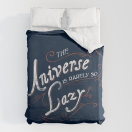 What do we say about coincidence? Duvet Cover
