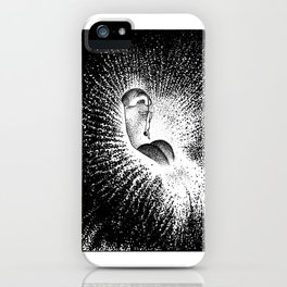 asc 607 - La grande inassouvie (The hanging man orchid) iPhone Case