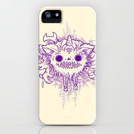 Antler Monster - Purple iPhone Case