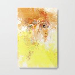 Stealth portrait Metal Print