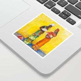 Flower Ladies Sticker
