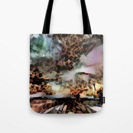 Thunderous Sunset Ahead Tote Bag