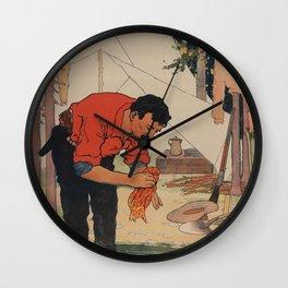 Ivory Soap Wall Clock