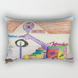 Fire Hall Practice  Rectangular Pillow